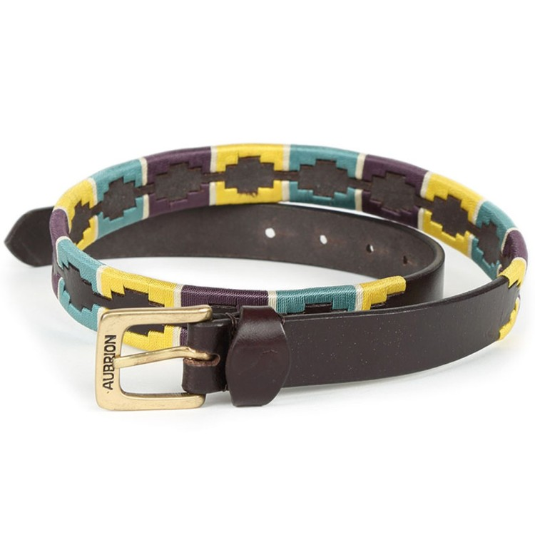 Aubrion Drover Skinny Polo Belt