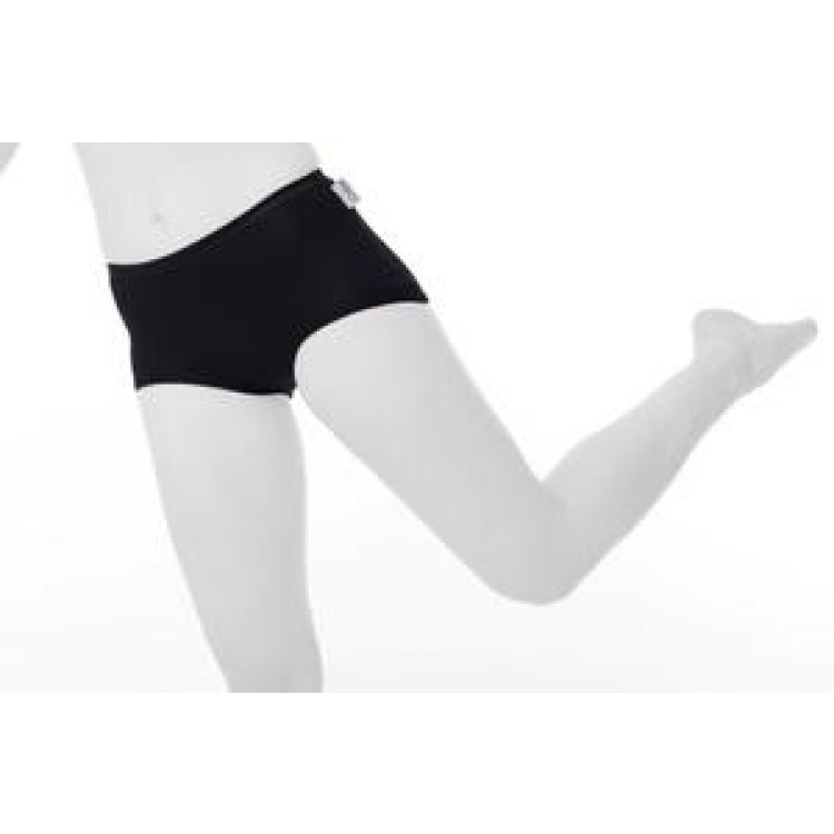Calm Leisure Ladies Riding Underwear - smooth boxer style - white- bamboo fabric