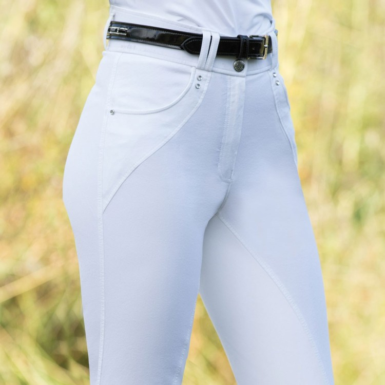 Equetech Harmony Performance Breeches white