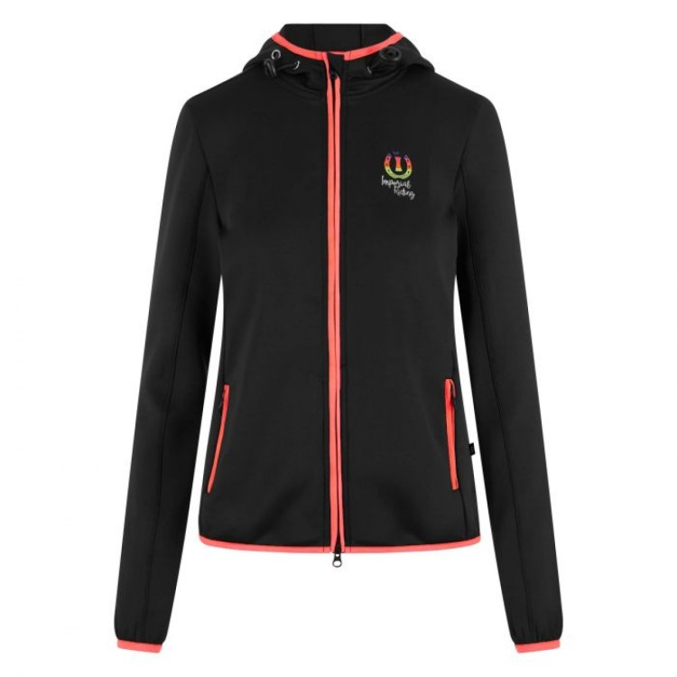Imperial Riding 'Flame' Hooded Top