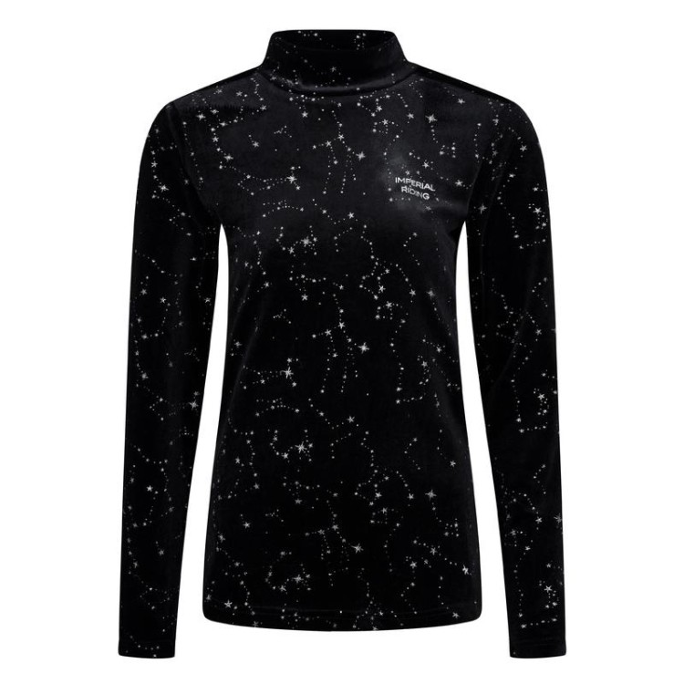 Imperial Riding Top with Turtleneck IRH-Rolling Star Black