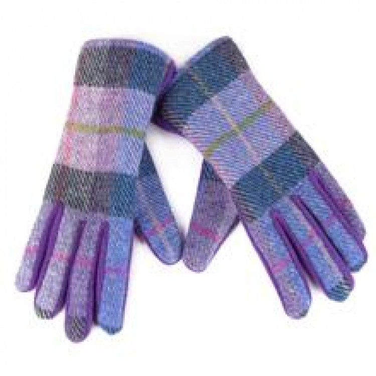 Isla Harris Tweed/Fleece Gloves